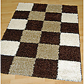 Origin Red Lotus Brown / Beige Rug - 150cm x 80cm