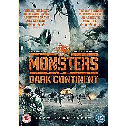 Monsters: Dark Continent DVD