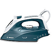 Bosch 2300W Quick Fill Palladium Sole Plate Steam Iron - Green