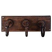 Fallen Fruits Triple Wall Coat Hooks