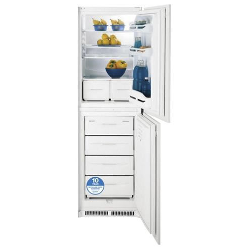 Indesit INC325AA Built In Fridge Freezer, 54.5cm, A+ Energy Rating, White