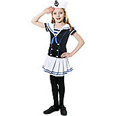Sailor Girl - Child Costume 10-12 years