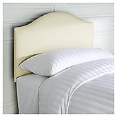 Laredo Headboard Cream Linen Single