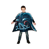 Rubies Fancy Dress - Angry Birds Star Wars - Darth Vader Costume CHILD ONE SIZE - 4-7 years