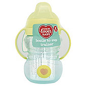 Tesco Loves Baby Bottle to Cup Trainer Beaker  - 4+ months - Boy - Blue