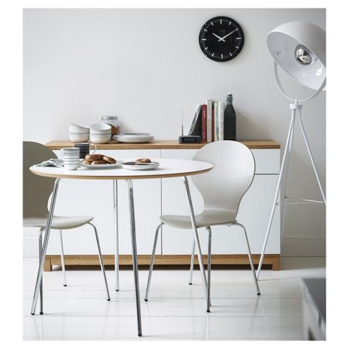Buy Bistro White Set Of 4 Dining Chairs From Our Dining Chairs Range Tesco