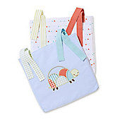 Mothercare Patchwork Garden Cot Pockets
