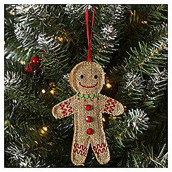 Gingerbread Man Christmas Tree Decoration