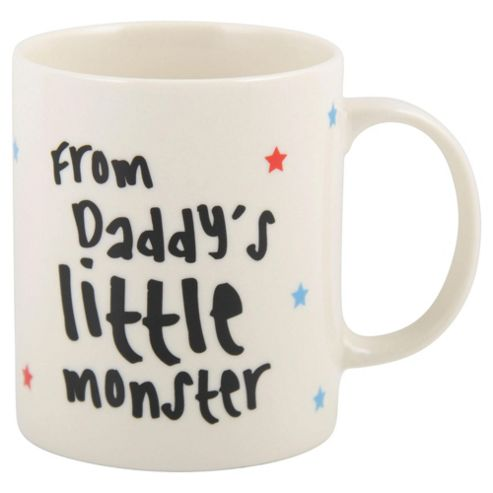 Daddys Little Monster Mug
