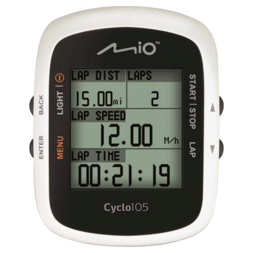 Mio Cyclo 105 Cyclist Navigation System, UK, 1.8