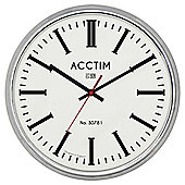 Acctim Jura Clock, Chrome