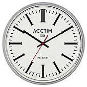 Acctim Jura Chrome Clock