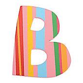 Tatiri Spots & Stripes Letter B (Stripes)
