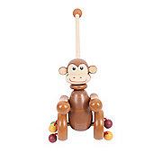 Bigjigs Toys BB076 Push Along (Monkey)