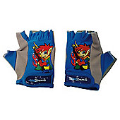 Kidzamo Kids' Bike Gloves, Blue
