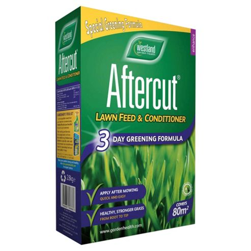 Aftercut Lawn Feed 3 Day Green, 80m2