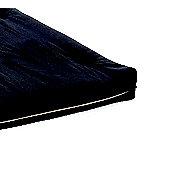 Comfy Living 2ft6 Small Single Futon Mattress in Black
