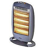 PE132 Pifco 1600W Halogen Heater 4 Bar Grey