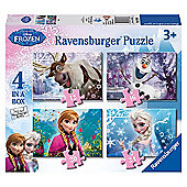 Ravensburger Disney Frozen 4 in a Box Puzzle
