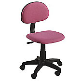 Hispanohogar Kids Office Chair - Pink