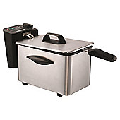 Morphy Richards 45081 Pro Deep Fat Fryer - Brushed Stainless Steel