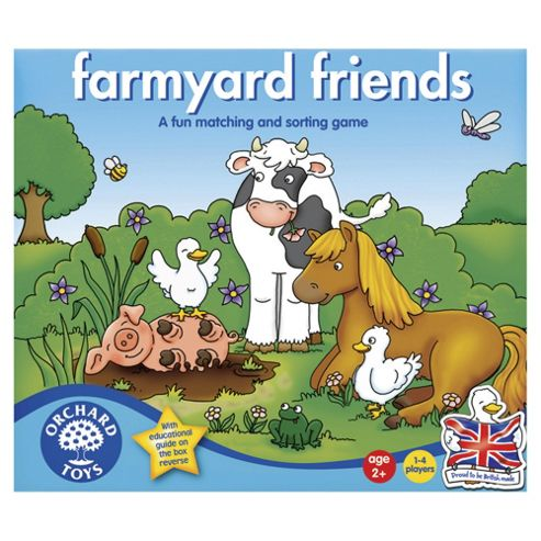 Orchard Toys Farmyard Friends Board Game
