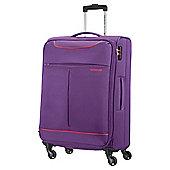 American Tourister 4-Wheel Suitcase, Purple Large