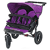 Out n About Nipper 360 Double Pushchair, Purple Punch