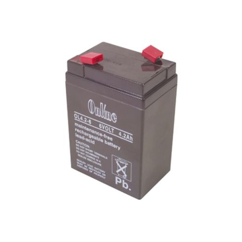 6V 4.5Ah Rechargeable Sealed Lead-Acid Battery Sla