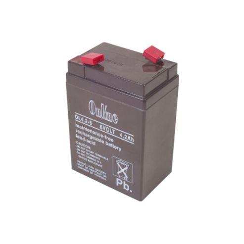 6V 4.5Ah Rechargeable Sealed Lead-Acid Battery Sla