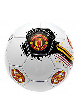 Manchester United FC Size 1 Football - White
