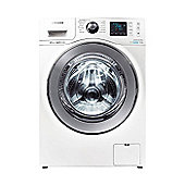 Samsung WF80F7E6U6W 8Kg, Washing Machine, A+++ Energy Rating, Ecobubble Tech