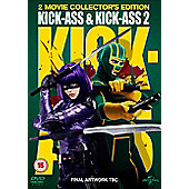 Kick Ass 1 & 2 DVD