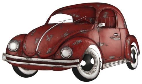 Pacific Lifestyle Beetle Car Design Metal Art