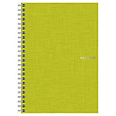 Fabriano A5 Spiral Notebook, Lime