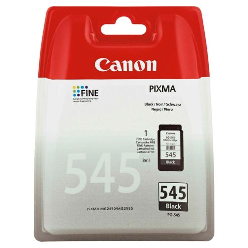 Canon PG-545 Printer Ink Cartridge - Black