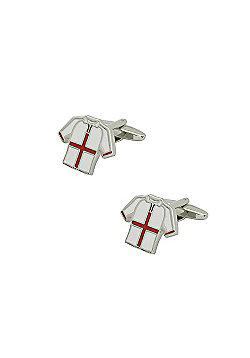England Football Shirt Cufflinks