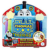 Thomas & Friends Colour & Stencil Bath Gift Set