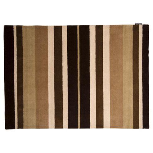 Wool Stripe Natural 70x130