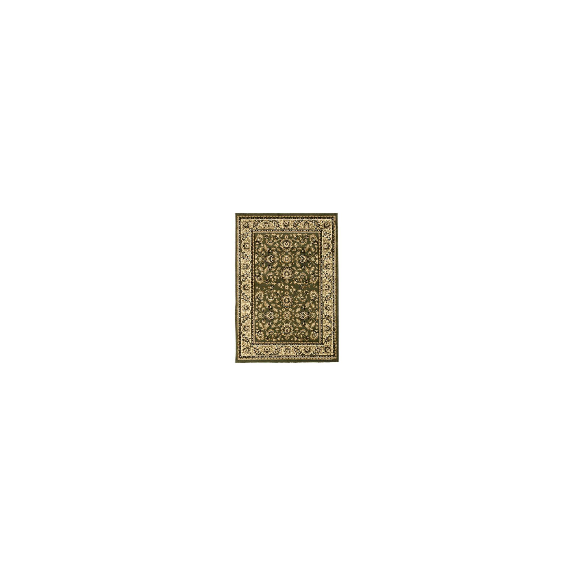 Oriental Carpets & Rugs Heritage 0993A Green Rug - Runner 67cm x 240cm