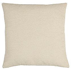 Tesco Chenille Cream Cushion