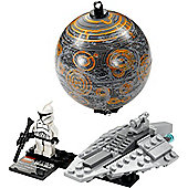 LEGO Star Wars - Republic Assault Ship and Coruscant Display Set 75007