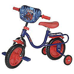 "Marvel Ultimate Spider-Man 10"" Kids' Bike with Stabilisers"