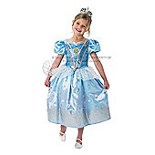 Rubie's Fancy Dress - Disney Princess - Cinderella Glitter Costume - CHILD SMALL UK 3-4 Years