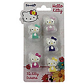 Hello Kitty Floral 3D Kitty Erasers