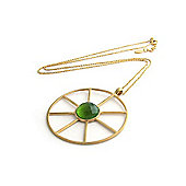 Lucas Jack Keira Necklace - Peridot