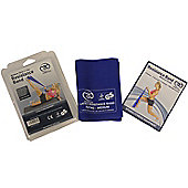 Yoga Mad Fitness Mad Resistance Band & Guide Medium