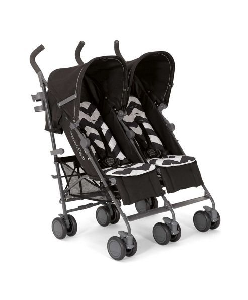 Mamas & Papas - Tour Twin Buggy - Black