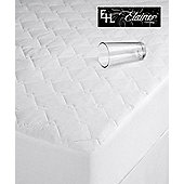 Elainer Single 110gsm Filled Quilted Waterproof Mattress Protector - White