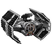 LEGO SW Vaders TIE Advanced vs AWing Starfigh 75150